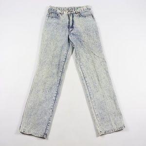 Vintage Streetwear Acid Wash Denim Jeans 29x30